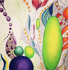 colorful energy art